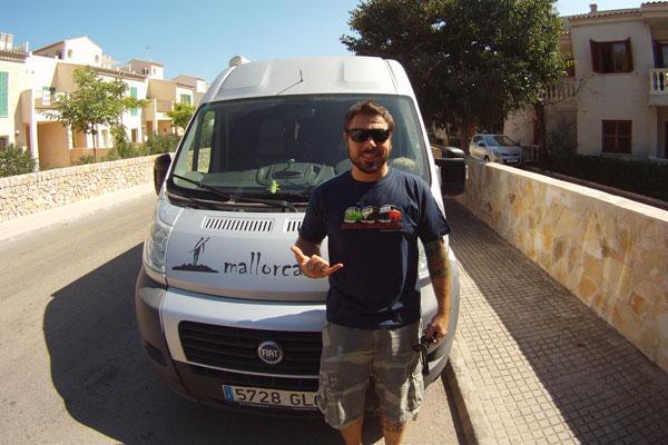 Dany Pascual, de Cala Ratjada (Mallorca)