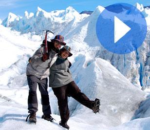 46. Andando sobre el glaciar Perito Moreno