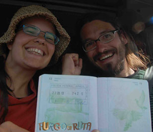Entrada a Brasil