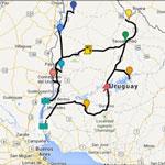 La ruta por Uruguay
