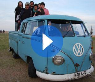 (Español) 57. Fiesta de la nostalgia y 1er encuentro de Vokswagen T3 Uruguay