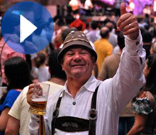 Oktoberfest con acento brasileño