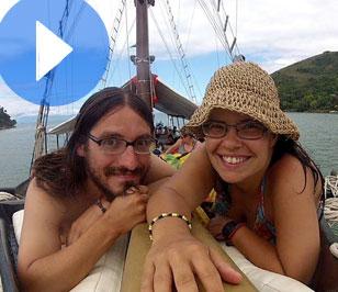 (Español) Tour en barco en Paraty