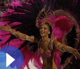 El mayor carnaval de Paraguay: Sambódromo de Encarnación