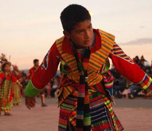 Fotoreportaje: Desfilada de Integración Boliviana