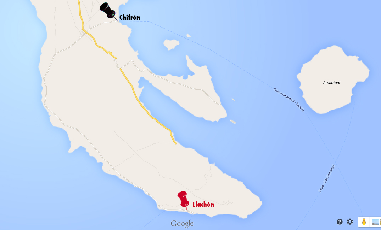 ruta hasta la isla de Amantaní