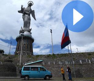 Quito o los peligros de invitar a un viajero a tu casa