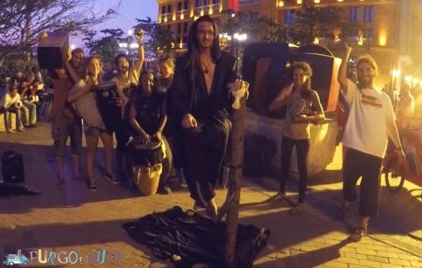 Espectáculo de magia y música con el Mago Levitador en Cartagena