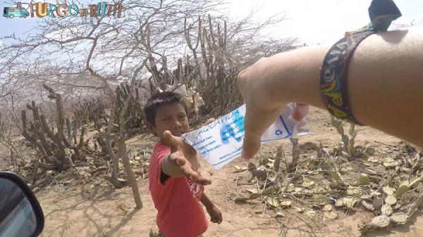 Repartiendo agua en la Alta Guajira
