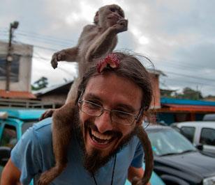 Misahuallí, el pueblo de los monos