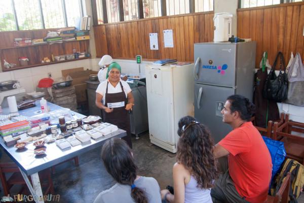 La sede de Mishky Cacao, en Chazuta