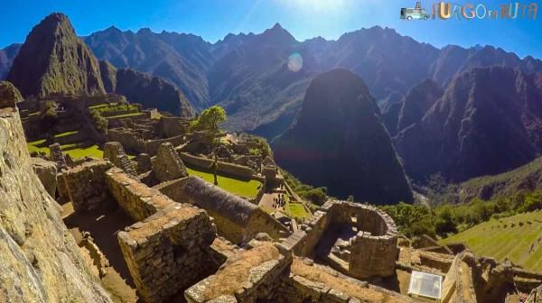 Visión del Machu Picchu sin nadie.