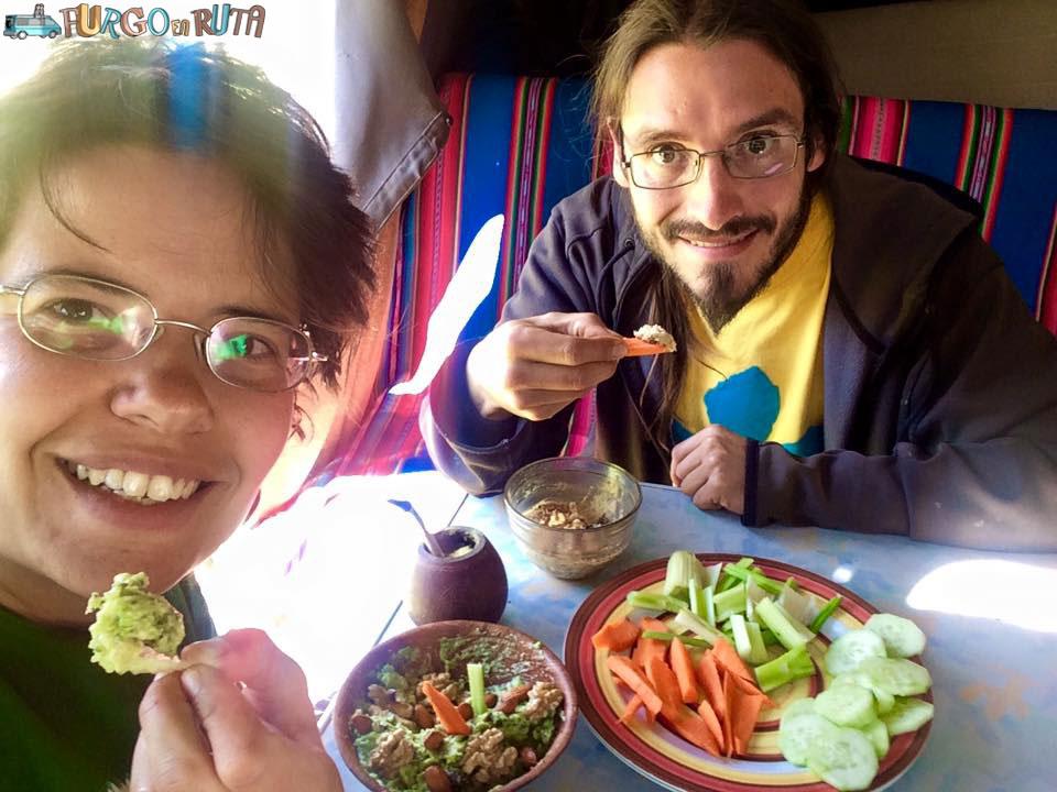 Guacamole en la Saioneta
