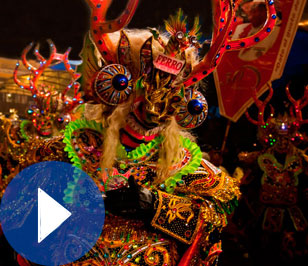 "Oruro Carnival, ""the best carnival of the world"""