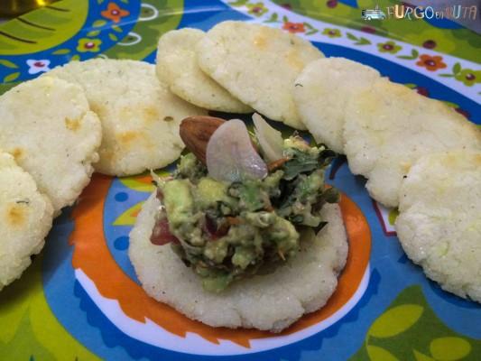Substituir el pan en el desayuno: Tortitas de maíz con guacamole extra
