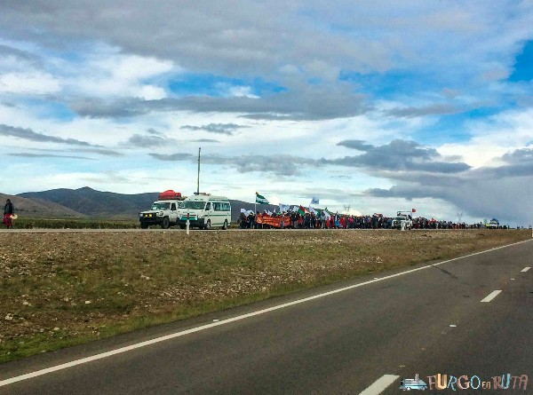 Cortes de carretera en Bolivia