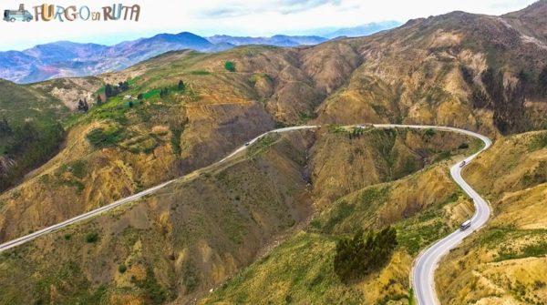 Carretera de Cochabamba a Oruro (3.420 m.s.n.m)