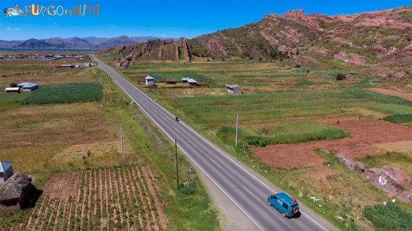Recorriendo el altiplano peruano