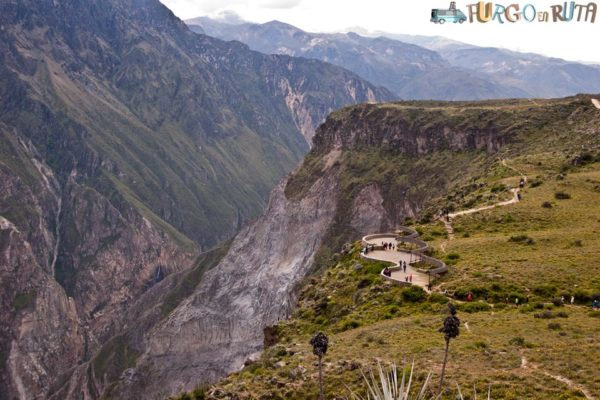 El cañón del Colca, Perú