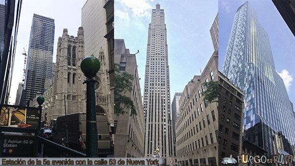 Conociendo la Quinta Avenida en nuestra escala larga en Nueva York