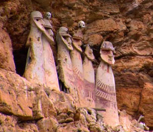 Saracophagus of Karajía, the guardians of the legacy Chachapoyas