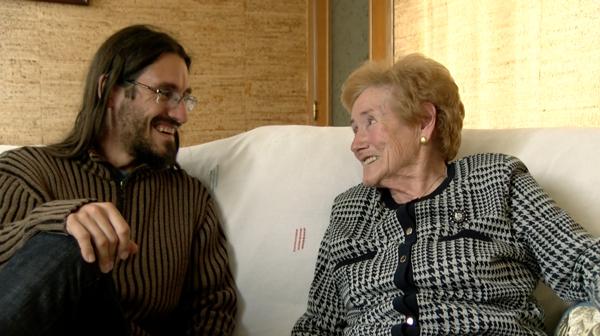 El gen viajero. Marià y su abuela Cinta