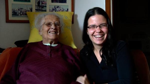 El gen viajero. Marta y su abuela Dolors