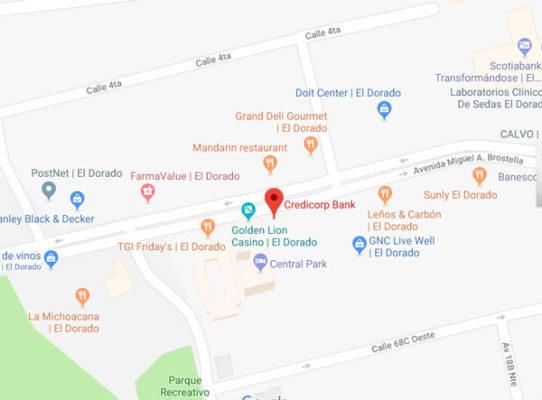 mapa ubicación credicop