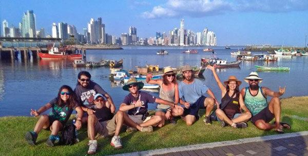 llegamos a Panamá City