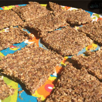 Recipe crackers easy, without oven and in the van