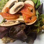 Furgo en ruta's vegan sandwich