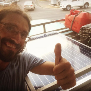 Easy guide to install a solar panel in the van
