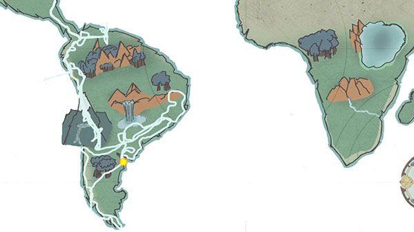 Mapa Furgo en Ruta