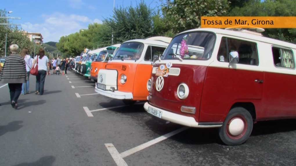 Encuentro de furgonetas VW en Tossa