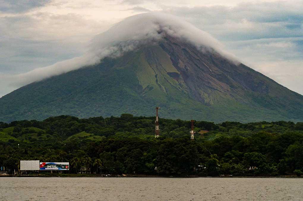 Volcán San Cristobal, isla de Ometepe, Nicaragua.