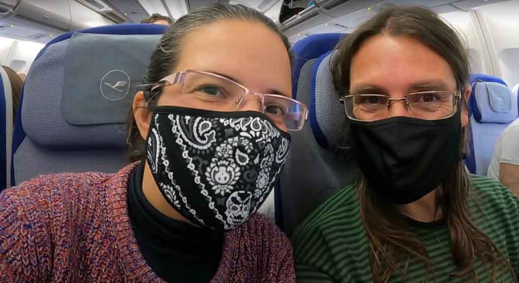 La única diferencia con respecto a los viajes prepandemia fue la obligación de llevar la mascarilla durante todo el trayecto para viajar a Cancún.