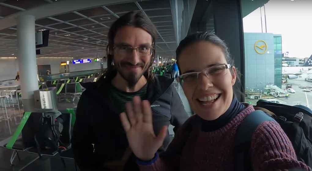 Viajar a Cancún: Nuestra escala en Frankfurt
